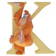 Disney Letter K King Louie