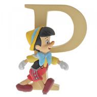 Disney Letter P Pinocchio