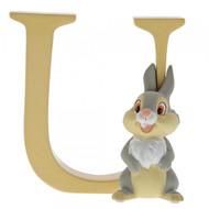 Disney Letter U Thumper