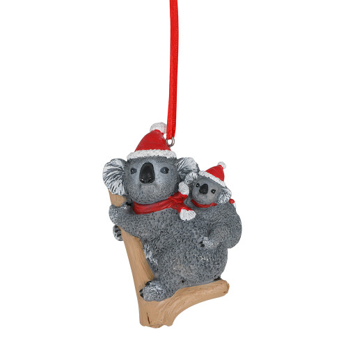 Koala and Joey Christmas Ornament