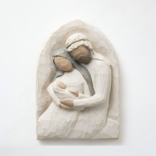 Willow Tree Holy Family Plaque