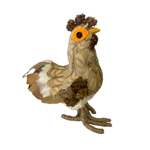 Bristlestraw Hen With Orange Eyes