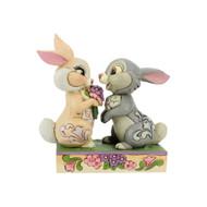Jim Shore Thumper And Blossom