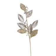 Leaf Spray Rose Gold