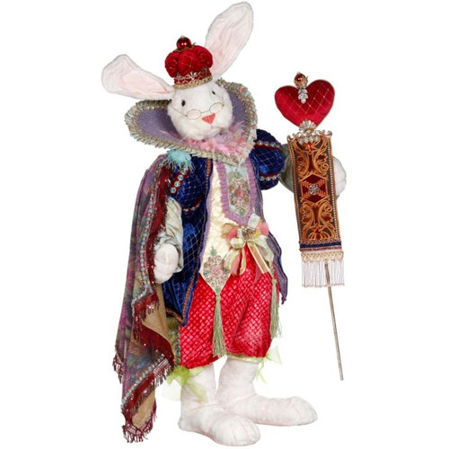 Mark Roberts King Of Hearts Rabbit