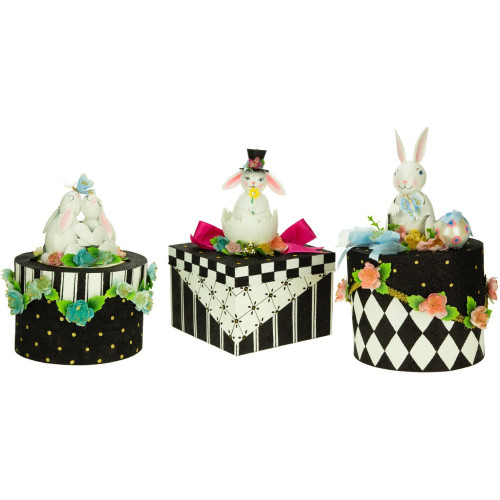 Mark Roberts Adorable Easter Bunny Box (3 Designs)