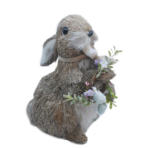 Rabbit Lacey With Wreath