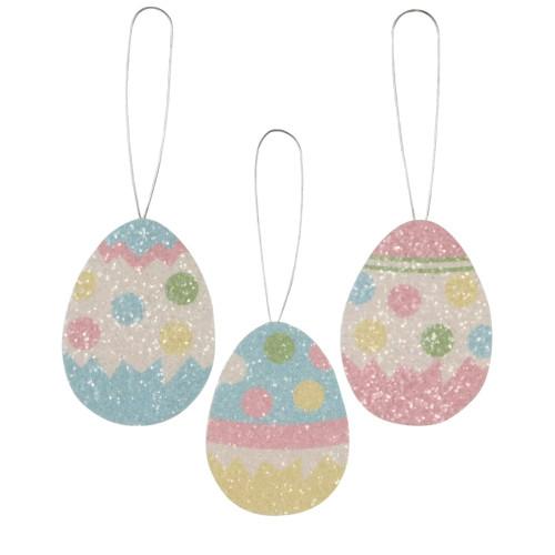 Polka dot Egg Tin Ornament (3 Designs)