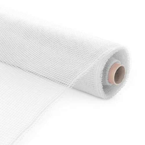 Plastic Mesh Roll White