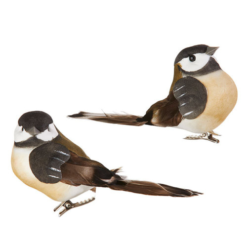 Chickadee Clip On Bird (2 Styles)