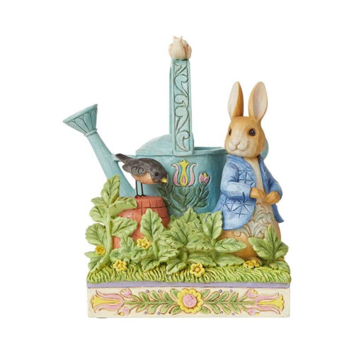 Jim Shore Peter Rabbit With Watering Can