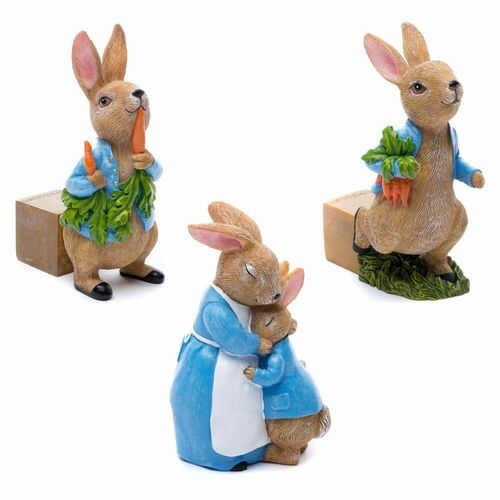 Beatrix Potter Peter Rabbit Plant Pot Feet (Set of 3)