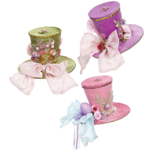 Mark Roberts Easter Parade Top Hat (3 Styles)