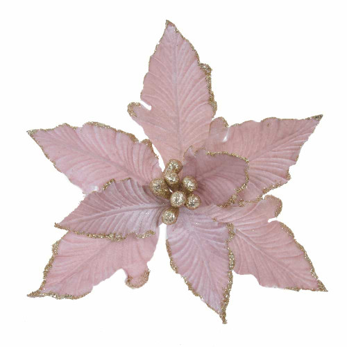 Poinsettia Pink With Clip