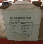 17x100 Clear Inkjet Film for Screen Printing