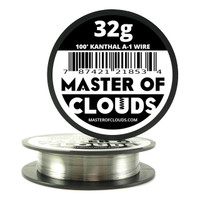 100 ft - 32 Gauge AWG A1 Kanthal Round Wire