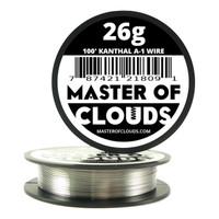 100 ft - 26 Gauge Kanthal A1 Round Wire