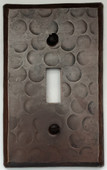 Sale Copper Switch Plate Cover (LSC400) 1 Gang Single Toggle