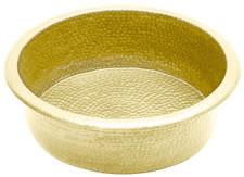 Brass Pedicure Bowl