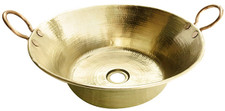 Vessel Sink (CZH16-BRASS) Bath Vessel Brass Sink