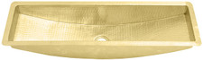 Trough Sink (TR30) Brass Trough for Bar or Prep
