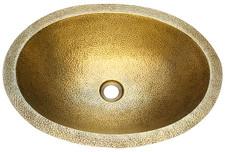 1-(BO19-PICO-WBR) New Bath Brass Oval Sink