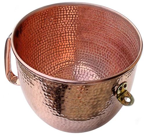 K-5 replacement copper bowl for Kitchenaid Mixer.