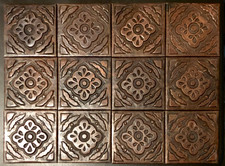 Copper Tile (TL904-12-4x4) Set of 12