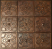Copper Tile (TL258-9-4x4) Set of 9