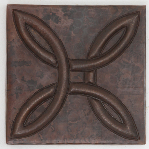 TL413-Arts and Crafts Knot Design Tile
