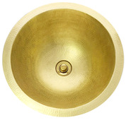 BR15-MB  MATTE BRASS BATHROOM SINK