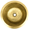 """RBV16-RB RUSTIC BRASS WITH 2"""" DRAIN OPENING"""
