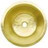 """RBV16-MB MATTE BRASS WITH 2"""" DRAIN OPENING"""