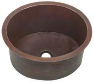 DBV16-Dark copper drum sink