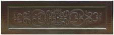 Farmhouse Sink Designer Front (FHA-RYS) Copper Kitchen Sink-Scroll