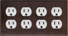 Switch Plate Cover Receptacle Cover Double Plug Outlet