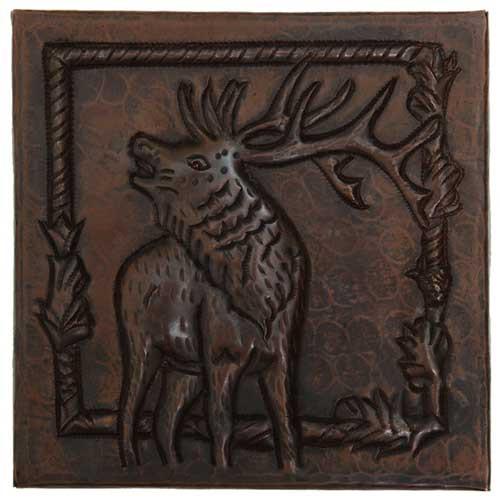 Elk copper tile