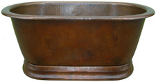copper tub straight top