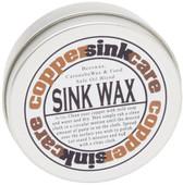 Copper sink care wax