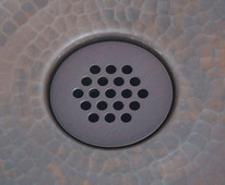 Copper Sink 19 Hole Grid Drain for Bath Sinks