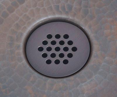 Copper Sink Drain Bath Grid Drain Copper Sinks Direct