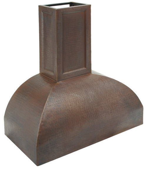 RH007 - Hammered Copper Range Hood.