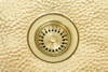 Brass Drain for use in Brass Kitchen Sink with garbage disposer. (KDD3BRS)