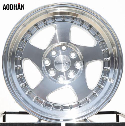AODHAN AH01 15X8 4X100/114 3 ET20 Silver