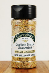 Cherchies Garlic 'n Herb No Salt Seasoning