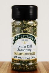 Cherchies Lem'n Dill No Salt Seasoning