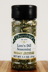 Cherchies Lem'n Dill No Salt Seasoning