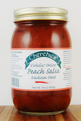 Cherchies Vidalia Onion Peach Salsa