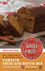 Whole Note Pumpkin Bread Mix