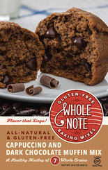 Whole Note Cappuccino and Dark Chocolate Muffin Mix